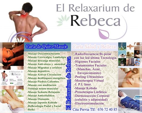 El Relaxarium de Rebeca