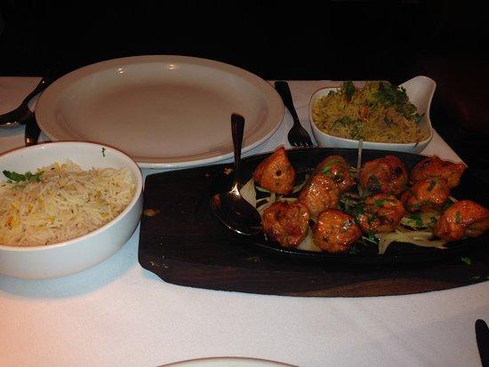 Rainham, UK: Main dish 1