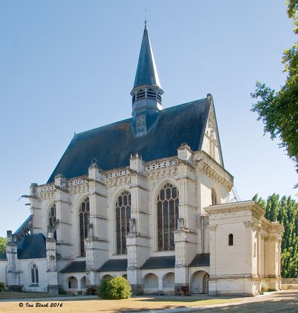 Chinon, France: The chapel