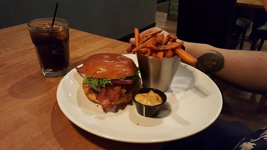 Princeton, Kanada: my bf burger