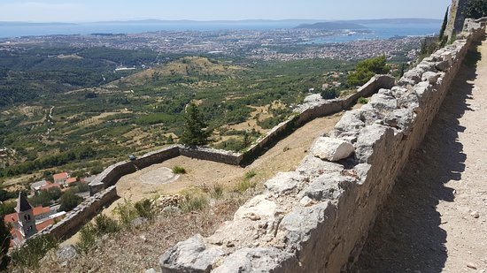 Klis, Croacia: where the GOT scene was filmed + view