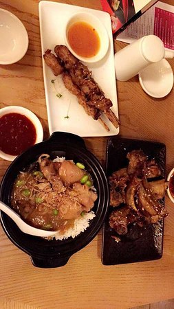 Ping Pong Wembley Honey Glazed Spare Ribs Honey Soy Chicken Skewer