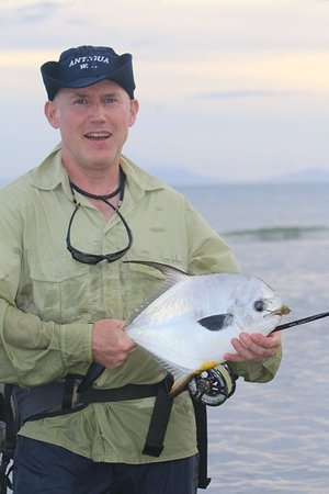 Fishing In Antigua With Captain Nick: Did I mention I caught a Permit?