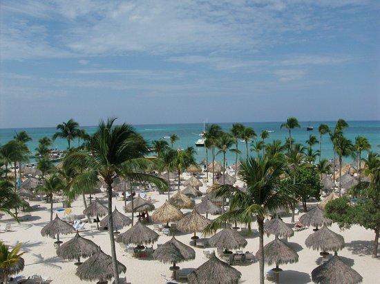 Marriott's Aruba Surf Club: 4th floor ocean front view