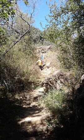 Lake Brownwood State Park: hiking trail