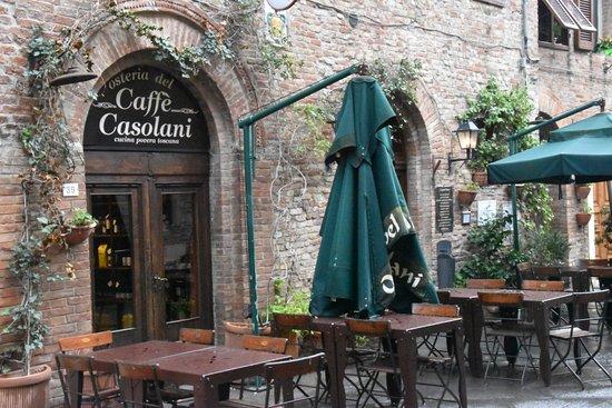 Casole d'Elsa, Włochy: il locale