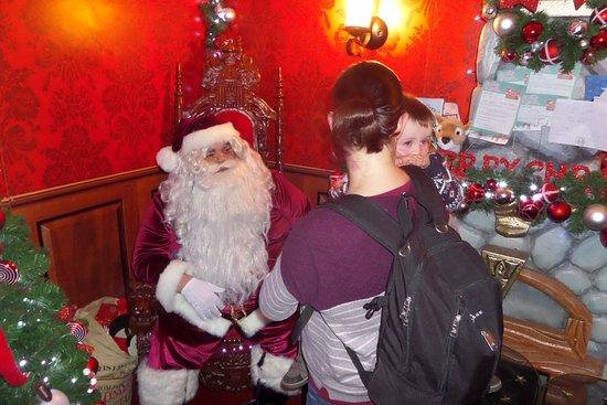 Penrith, UK: Santa