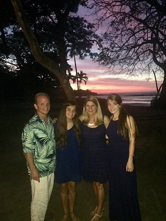 Hotel Capitan Suizo: Our family at Sunset after my nephews wedding at Capitan Suizo