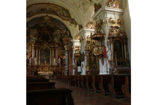 Zisterzienserkloster Raitenhaslach: Rokoko in der Kirchenausstattung