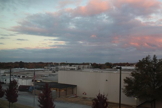 Candlewood Suites Greenville: View from the 4th floor