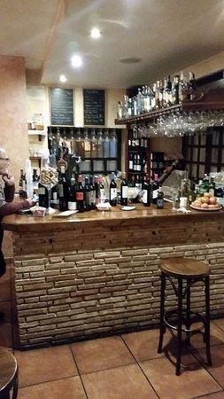 Mataelpino, España: La barra
