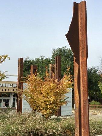 Napa River Inn at the Historic Napa Mill: 911 memorial