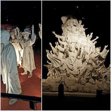 Visite du memorial de l'indépendance, Cheonan 2016