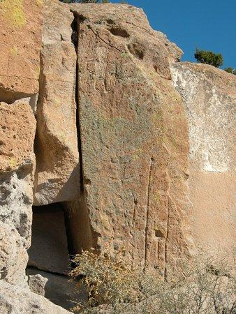 Los Álamos, Nuevo Mexico: Petroglyphs
