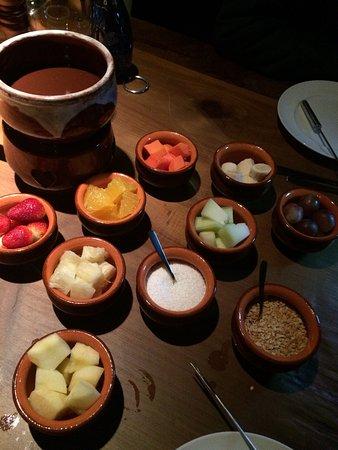 Excelente Restaurante Cadre fondue