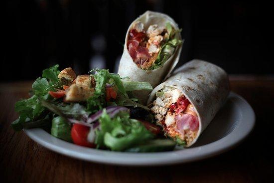Malta, Нью-Йорк: Chicken Chipotle Wrap