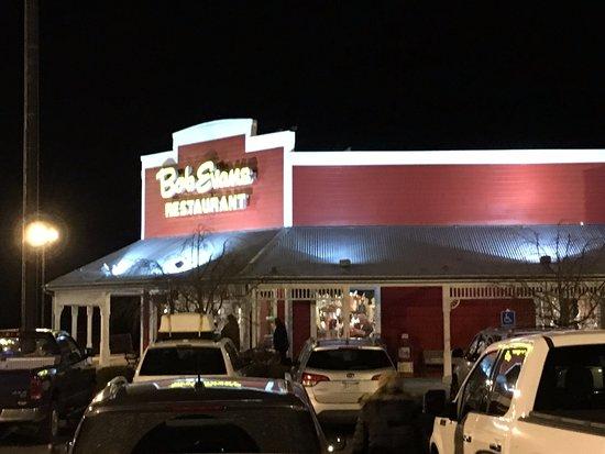 Breezewood, Pensilvania: front of restaurant