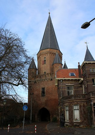 Zutphen, The Netherlands: The city gate/ tower.