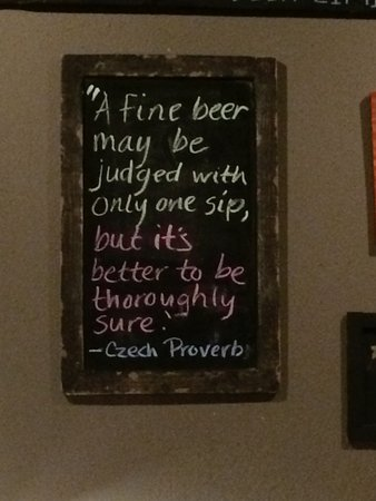 Los Álamos, Nuevo Mexico: Chalkboard quote