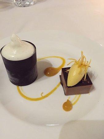 Llandderfel, UK: Fine dining