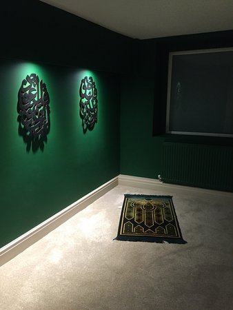 Brownies & lovely prayer room - Picture of Mumtaz Manchester ...