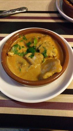 Malaga Tapas : Chicken & mushrooms