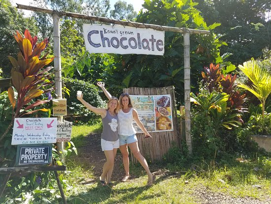 Kilauea, Hawái: Chocolate in paradise...what could be better!