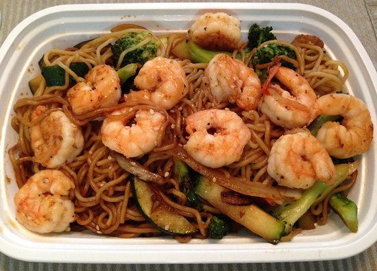 Bartlett, TN: Shrimp Yakisoba