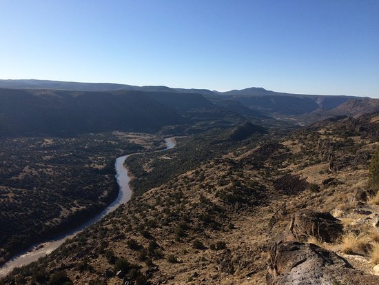 ‪‪Los Alamos‬, نيو مكسيكو: Rio Grande and Frijoles Canyon‬