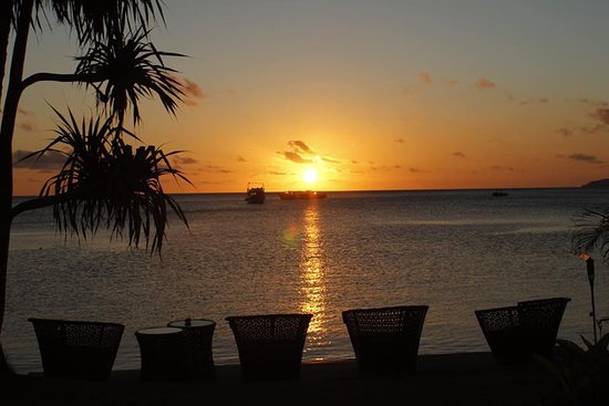 Beqa, Fiji: Beautiful sunrise