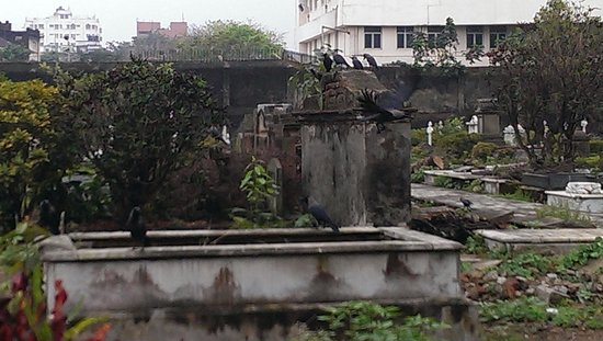 Scottish Cemetery at Calcutta