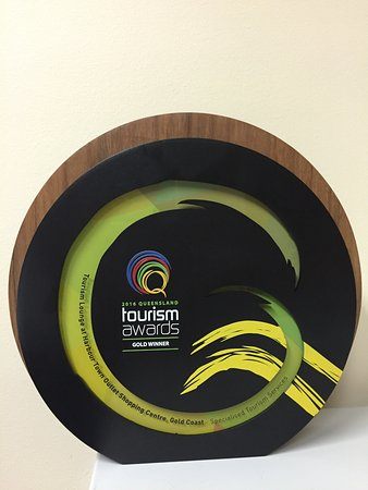 Harbour Town Outlet Shopping Centre: Tourism Lounge 2016 Gold Winner of Specialised Tourism Services at the Queensland Tourism Awards