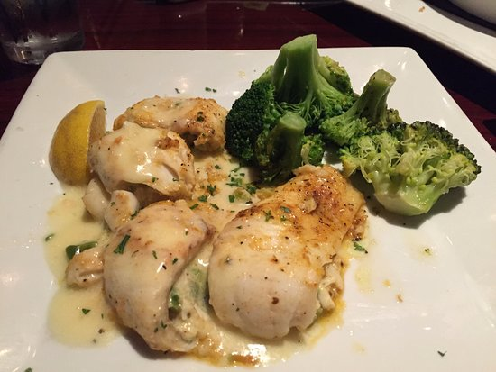 Midlothian, VA: Stuffed Flounder with broccoli