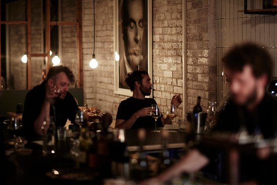 Brunswick, Australia: The bar, best seat in the house
