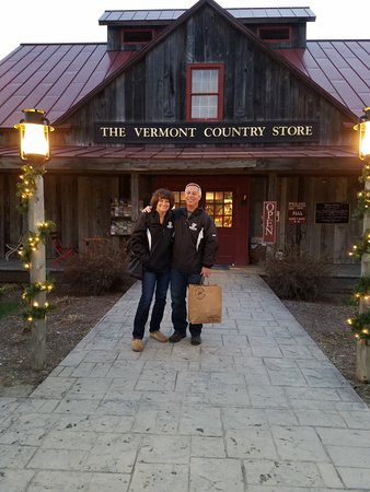 Rockingham, VT: Our bag of goodies from the store!