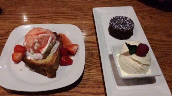 Warrington, بنسيلفانيا: Yummy Dessert Choices!