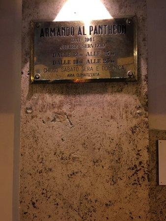 Da Armando al Pantheon: photo5.jpg