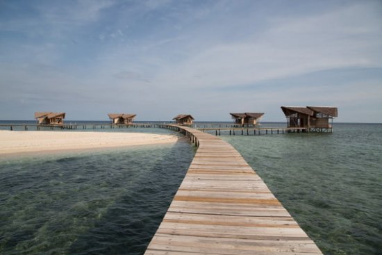 Gorontalo, Indonesien: View resort di Pulo Cinta