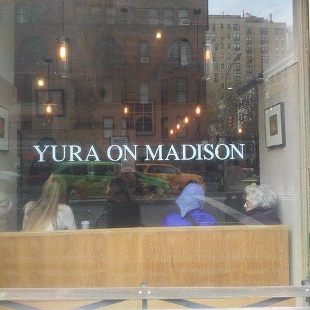 Yura on Madison: Window seating