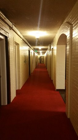 Gallup, Nowy Meksyk: the room hallway