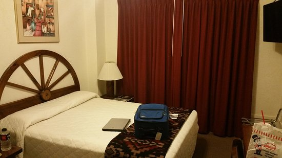 Gallup, NM: Our room. Quite small