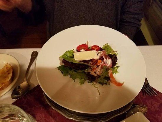 Valle Crucis, NC: garden salad