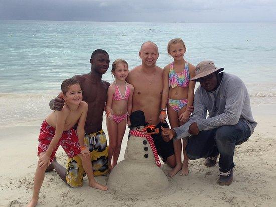 Joe Cool Taxi & Tours Jamaica: Sandman Snowman!