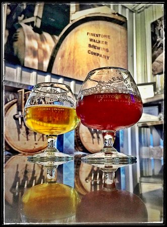 Barrelworks at Firestone Walker Brewery: Awesome Barrel Aged Beers and Sours