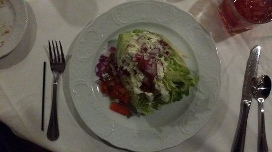 New Harmony, IN: A Very Good Wedge Salad