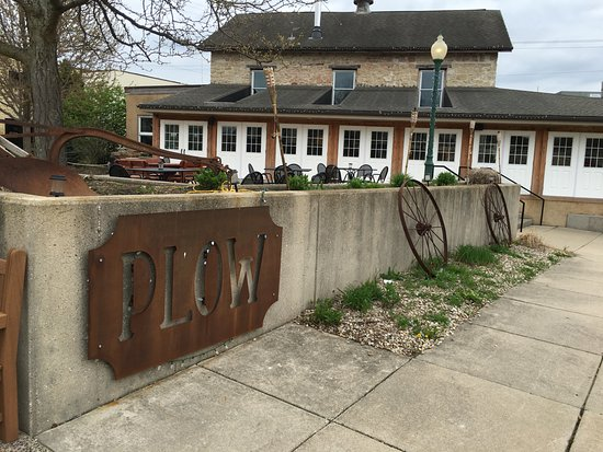 Cambridge, WI: Outside the PLOW