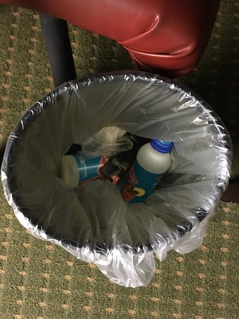 University Plaza Hotel and Convention Center: not our trash!