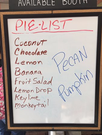 Shawnee, OK: Pie Menu