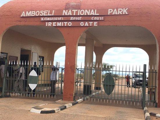 Amboseli National Park, Kenia: Iremito Gate