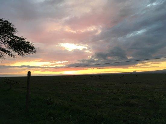Amboseli National Park, Kenia: Sunset